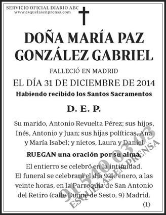 María Paz González Gabriel